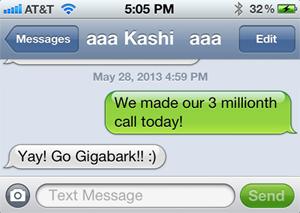 3 Million Messages!